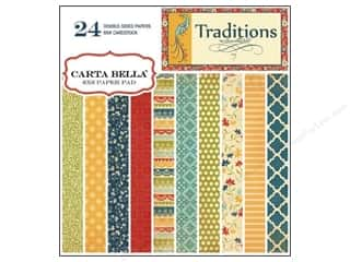 Carta Bella Paper Pad 6x6 Traditions