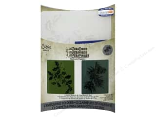 Sizzix Emboss Folder Tim Holtz TF Holly & Pine