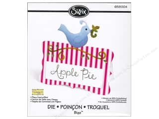 Sizzix Bigz Die Place Card Bird by Dena Designs
