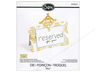 Decorations $1 - $4: Sizzix Bigz Die Place Card with Decorative Accent 1 by Dena Designs