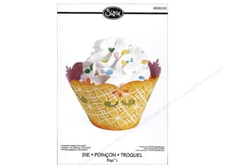 Party Supplies Scrapbooking & Paper Crafts: Sizzix Bigz L Die Cupcake Holder Decorative by Dena Designs