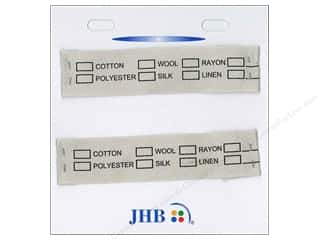 JHB Sweetheart Labels Material 2pc