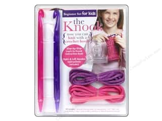 Bulky yarn: Leisure Arts The Knook Set For Kids