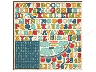 Carta Bella Sticker 12x12 Traditions Alphabet (15 set)