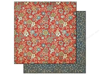 Carta Bella 12 x 12 in. Paper Traditions Evening Floral (25 piece)