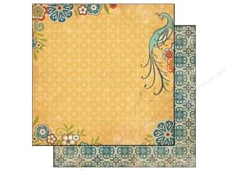 Carta Bella 12 x 12 in. Paper Traditions Peacock Paradise (25 piece)