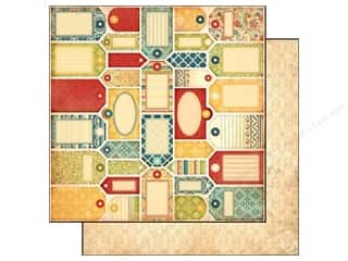 Carta Bella 12 x 12 in. Paper Vintage Tags (25 piece)