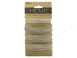 Darice Cord Hemp Set4  Assorted Natural