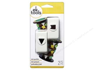 EK Success inches: EK Paper Shapers Mini Punch Pennant Set 1/2 in.