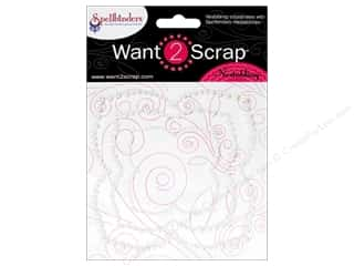 Want2Scrap Sticker Spellbinders Label 24 White P
