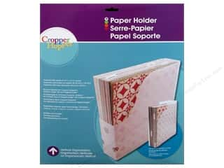 Cropper Hopper Vertical Org Paper Holder 12&quot;x 12&quot;