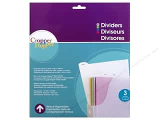 Cropper Hopper Vertical Organizers Dividers 3pc