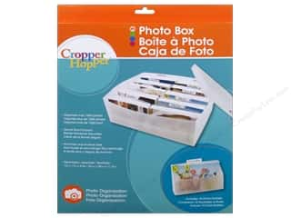 "Organizer Containers: Cropper Hopper Photo Box 13""x 11""x 4.5"""