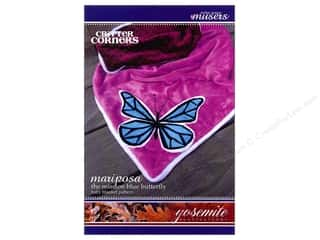 McKay Manor Musers Animals: Mckay Manor Musers Mariposa Butterfly Blanket Pattern