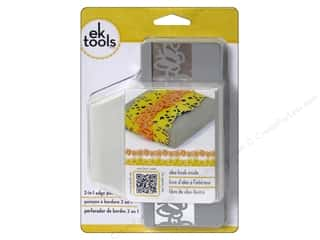 EK Success Dimensions: EK Paper Shapers Edger Punch 2 In 1 Butterfly & Flower