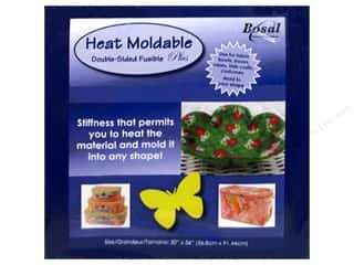 Bosal Sewing & Quilting: Bosal Double-Sided Fusible Plus Stabilizer Heat Moldable 20 x 36 in.