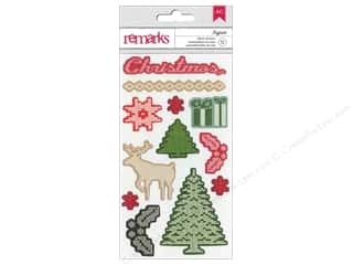 clearance American Crafts Thickers Stickers: American Crafts Stickers Kringle & Co Ivyfrost