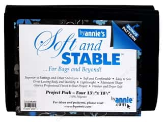 Purse Making Black: By Annie Soft And Stable 100% Polyester Project Pack Black