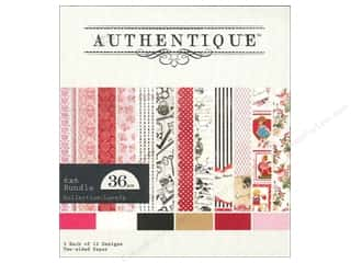 Authentique Paper Bundle 6 x 6 in. Lovely 36pc