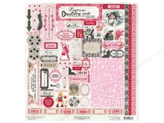 Authentique Sticker Lovely 12x12 Details