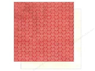 Hearts inches: Authentique 12 x 12 in. Paper Lovely Collection Heart (25 pieces)