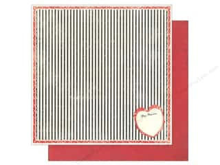 Hearts inches: Authentique 12 x 12 in. Paper Lovely Collection Valentine (25 pieces)
