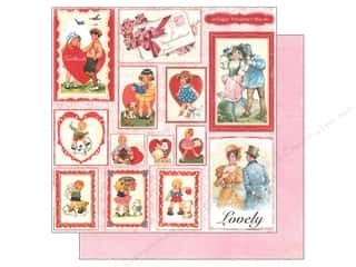 Authentique Paper 12 x 12 in. Lovely Greetings (25 piece)