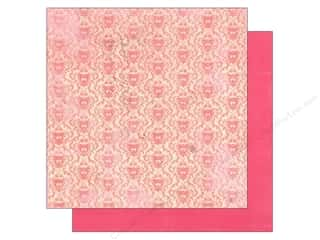 Hearts inches: Authentique 12 x 12 in. Paper Lovely Collection Beloved (25 pieces)