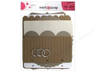 Want 2 Scrap Memory Albums / Scrapbooks / Photo Albums: Want2Scrap Album Mixed Media Stepping Stones