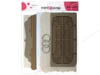 Clearance Want2Scrap Album: Want2Scrap Album Mixed Media Little Bit Of That