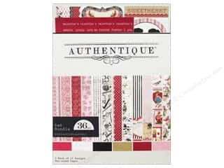 Everything You Love Sale Graphic 45 Paper Pad: Authentique Paper Crafting Kit Lovely 6 x 6 in.