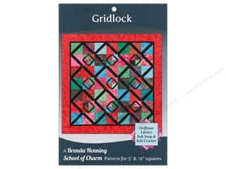 Bear Paw Productions Clearance Books: Bear Paw Productions School of Charm Gridlock Pattern