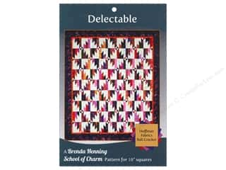 School Sewing & Quilting: Bear Paw Productions School of Charm Delectable Pattern