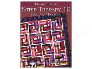 Bear Paw Productions Fat Quarter / Jelly Roll / Charm / Cake Books: Bear Paw Productions Strip Therapy 10 Bali Pop Epidemic Book