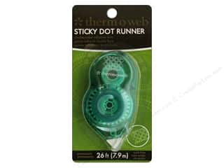 Therm O Web: Therm O Web Tape Runner Sticky Dot Mini Perm 26ft