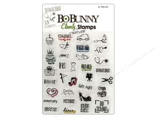 Bo Bunny Stamps Clear Calendar Remind Me