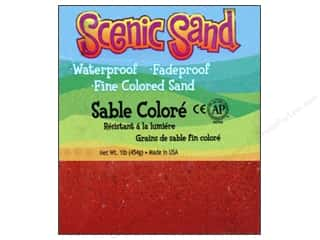 Scenics Crafts with Kids: Activa Scenic Sand 1 lb. Bright Red