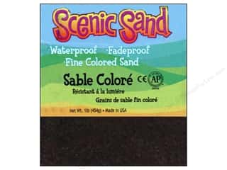 Scenics Kids Crafts: Activa Scenic Sand 1 lb. Deep Black