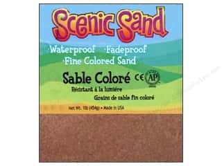 Scenics Crafts with Kids: Activa Scenic Sand 1 lb. Cocoa Brown