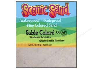 Activa Kid Crafts: Activa Scenic Sand 1 lb. White
