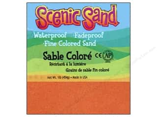 Scenics Crafts with Kids: Activa Scenic Sand 1 lb. Orange