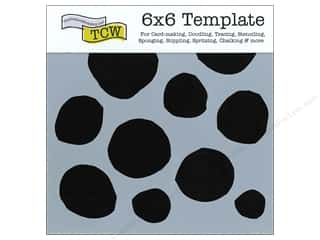 The Crafter's Template 6 x 6 in. Boulders