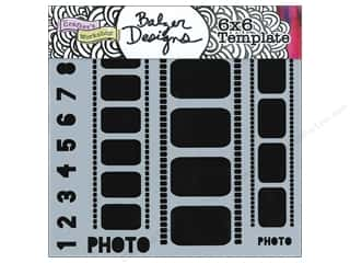 The Crafter's Workshop Template 6 x 6 in. Filmstrips