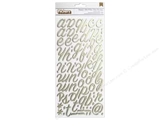 Crate Paper Thicker Sticker On Trend Rainboot Gold
