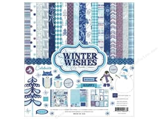 Echo Park Collection Kit 12x12 Winter Wishes