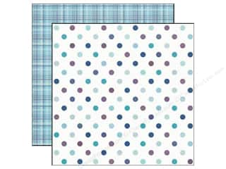 Echo Park Paper 12x12 Winter Wishes Dazzling Dots (25 piece)