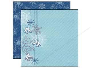Echo Park Paper 12x12 Winter Wishes Shiny Skates (25 piece)