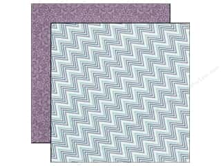 Echo Park Paper 12x12 Winter Wishes Icy Chevron (25 piece)