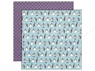 Echo Park 12 x 12 in. Paper Winter Wishes Play Penguins (25 piece)