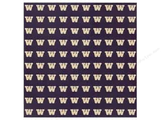 2013 Crafties - Best Quilting Supply: Sports Solution Paper 12x12 Washington Purple (25 sheets)